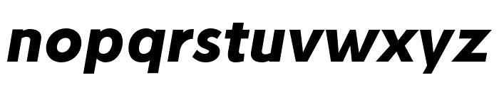 Stilu Bold Italic Font LOWERCASE
