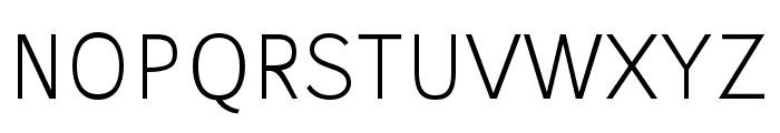 Stilu-Light Font UPPERCASE