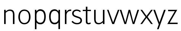 Stilu-Light Font LOWERCASE
