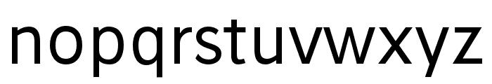 Stilu-Regular Font LOWERCASE