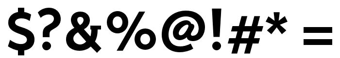 Stilu-SemiBold Font OTHER CHARS