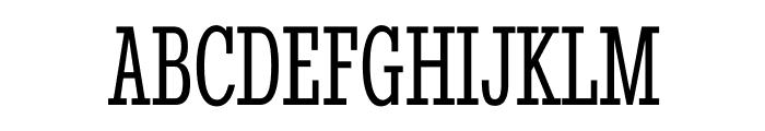StintUltraCondensed-Regular Font UPPERCASE
