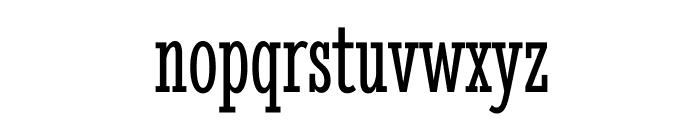 StintUltraCondensed-Regular Font LOWERCASE