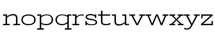 StintUltraExpanded-Regular Font LOWERCASE
