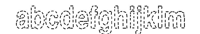 Stitch & Bitch Font LOWERCASE
