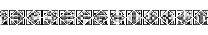 Stitches Regular Font UPPERCASE