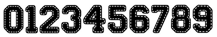Stitch'n School Font OTHER CHARS
