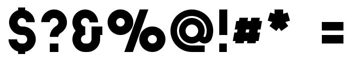 Stockholm Slab Font OTHER CHARS