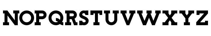 Stockholm Slab Font UPPERCASE