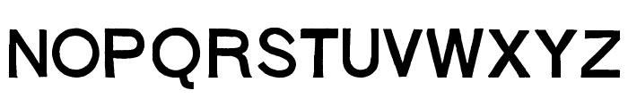 Stoehr numbers Font LOWERCASE