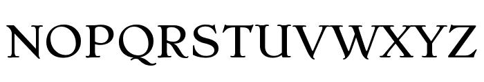 Stoke Light Font UPPERCASE