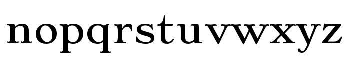 Stoke Light Font LOWERCASE