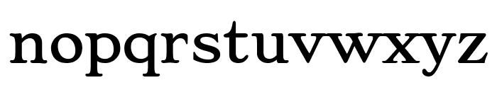Stoke Regular Font LOWERCASE