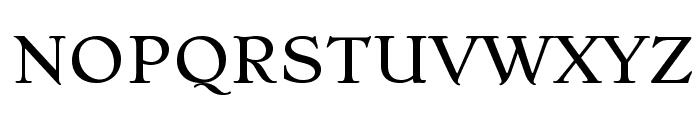 Stoke Font UPPERCASE