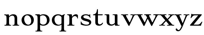 Stoke Font LOWERCASE