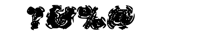 Stolen LlamaRegular Font OTHER CHARS