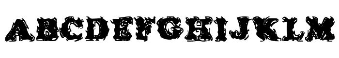 Stolen LlamaRegular Font UPPERCASE