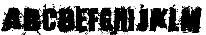 Stone Cold Font UPPERCASE