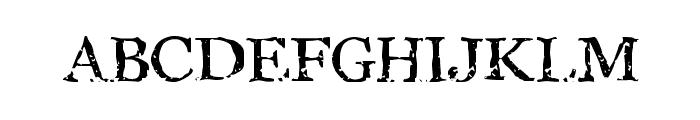 StoneBird Font UPPERCASE