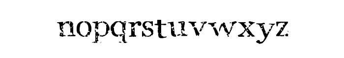 StoneBird Font LOWERCASE