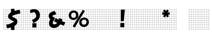 StoneCapsIngrid Font OTHER CHARS