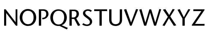 StoneSans Font UPPERCASE