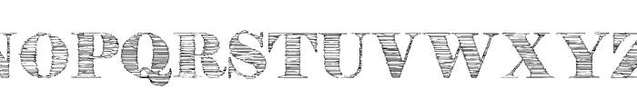 StoneStory Font UPPERCASE
