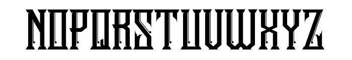 Stonebangs Typeface Font UPPERCASE