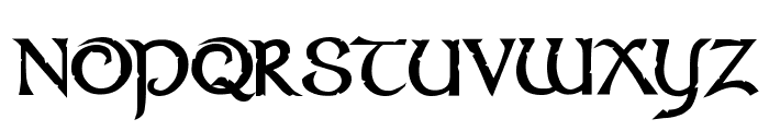 Stonecross Font UPPERCASE