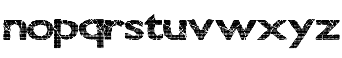 StonedHeights Font LOWERCASE