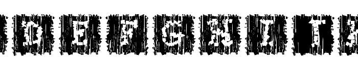 Stoneflint Font LOWERCASE