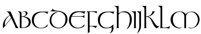 Stonehenge Regular Font UPPERCASE