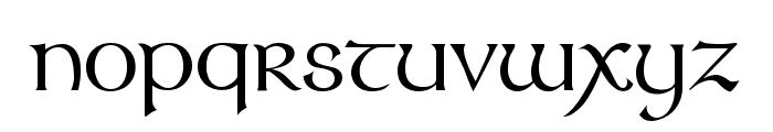 Stonehenge Regular Font LOWERCASE