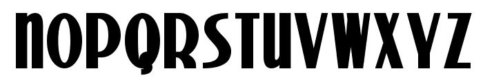 Stony Island NF Bold Font UPPERCASE
