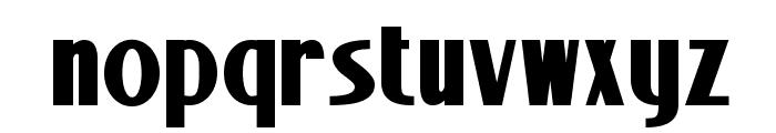 Stony Island NF Bold Font LOWERCASE