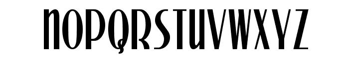 Stony Island NF Font UPPERCASE