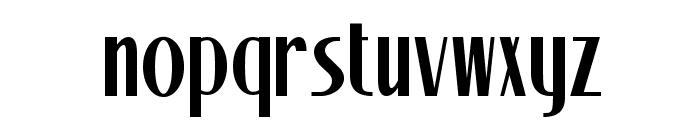 Stony Island NF Font LOWERCASE