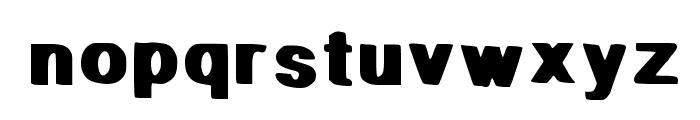 Stop It Font LOWERCASE