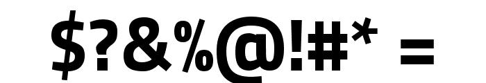 Storia Sans ExtraBold Font OTHER CHARS