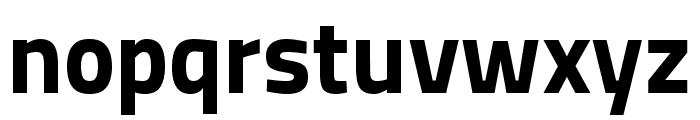 Storia Sans ExtraBold Font LOWERCASE