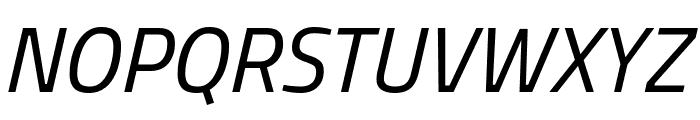 Storia Sans Italic Font UPPERCASE