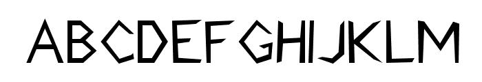 Stormblade Font UPPERCASE