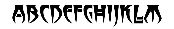 Stormbringer Font LOWERCASE