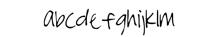 StormysFont Font LOWERCASE