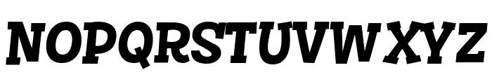Story Choice Sans Serif Bold Italic Font UPPERCASE