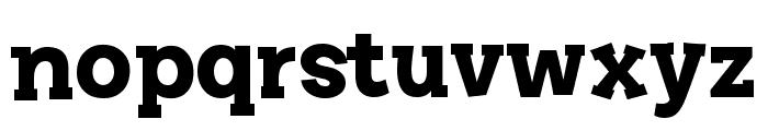 Story Choice Sans Serif Bold Font LOWERCASE