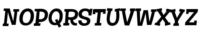 Story Choice Sans Serif Italic Font UPPERCASE