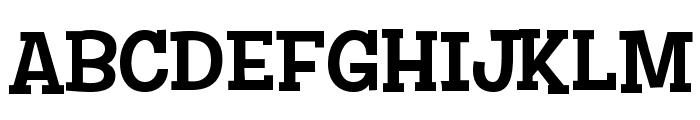 Story Choice Sans Serif Font UPPERCASE