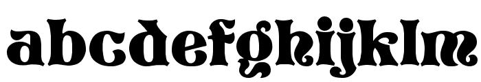 Storybook Regular Font LOWERCASE