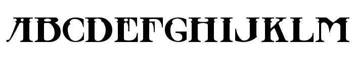 Stowaway Font UPPERCASE